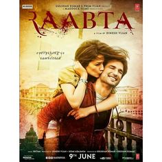 "Unveiled: First look poster of Sushant Singh Rajput and Kriti Sanon starrer ""Raabta"". Directed by Dinesh Vijan. Releasing on 9th June 2017. @filmywave  #SushantSinghRajput #KritiSanon #Raabta #DineshVijan #poster #movieposter #firstlook #movie #film #celebrity #bollywood #bollywoodactress #bollywoodactor #bollywoodmovie #actor #actress #star #instalike #instacomment #filmywave"