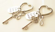 Hey, I found this really awesome Etsy listing at https://www.etsy.com/listing/169990618/best-friend-keychain-set-best-friends