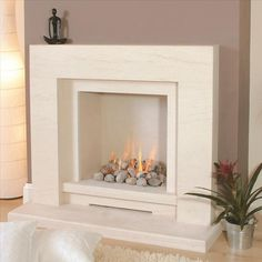 Make a design statement with your fireplace in Essex, call Victoria House Fireplaces on 01702 551 172 Faux Fireplace Mantels, Limestone Fireplace, Rock Fireplaces, Concrete Fireplace, Fireplace Inserts, Fireplace Wall, Fireplace Surrounds, Fireplace Design, Fireplace Ideas