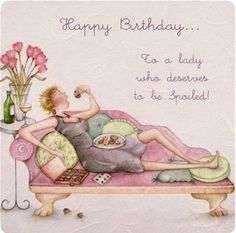 Parker, Berni - Happy Birthday- Woman Who Loves to be Pampered
