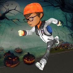 #NEW #iOS #APP Halloween Town Runner 3D - Ali Imran
