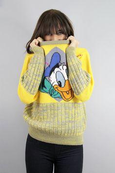 Yellow Donald sweater :)