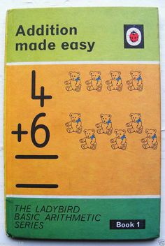 Vintage Ladybird Book Addition Made Easy Basic Arithmetic Series 678 1967 | eBay