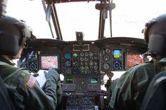 CH47 Chinook Cockpit.