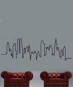 Silueta - Vinilo Adhesivo, decoración de paredes. $89.900 COP. Encuentra más vinilos adhesivos en www.giferent.com/vinilos-decorativos-adhesivos