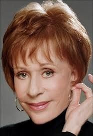 Carol Burnett - of The Carol Burnett Show. This year, 2013, she is 80 years old.