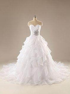 GL bridal Women's Multilayer Marriage Gauze Strapless White Wedding Dress US2 GL bridal http://www.amazon.com/dp/B01CTY5NME/ref=cm_sw_r_pi_dp_1A44wb1DCB6AQ