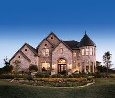 Vinton Plan at Whittier Heights in Colleyville, Texas by Toll Brothers