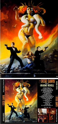 FRANK FRAZETTA - From Dusk Till Dawn - 1996 Motion Picture CD - cover by geocities.ws - print by frankfrazetta.org