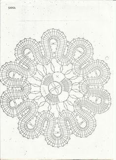 renda de bilros / bobbin lace patterns Crochet Diy, Filet Crochet, Crochet Motif, Irish Crochet, Bobbin Lace Patterns, Sewing Patterns, Dream Catcher Craft, Romanian Lace, Bobbin Lacemaking