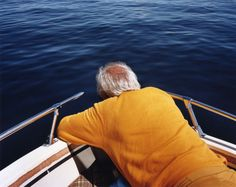 Larry Sultan: Dad on Boat