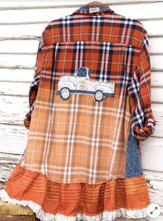 Lined Flannel Shirt, Plaid Flannel, Flannel Shirts, Flannels, Boho Clothing, Clothing Redo, Floral Denim, 1940s Fashion, Boho Outfits