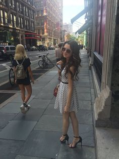 """Laura Marano on Twitter: """"I was going for a Carrie Bradshaw vibe today…"""