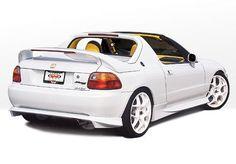 del sol wings | 1993-1997 Honda Del Sol RS Wings West Rear Lip