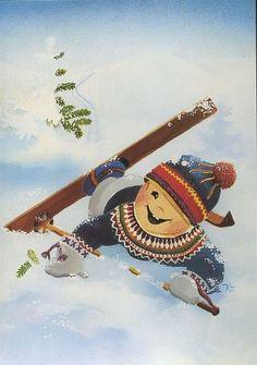 Детский иллюстратор Kaarina Toivanen (Финляндия)