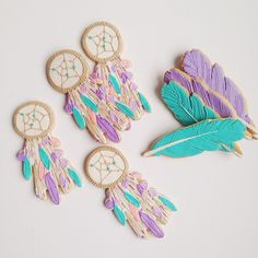 Dreamcatcher Cookies by Baked Ideas