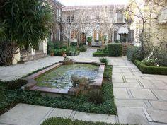 Il Borghese Apts, Hancock Park, Los Angeles (historical courtyard apartments)