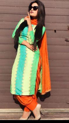 Punjabi Wedding Suit, Punjabi Suits Party Wear, Party Wear Indian Dresses, Designer Party Wear Dresses, Dress Indian Style, Indian Fashion Dresses, Sikh Wedding, Punjabi Suits Designer Boutique, Indian Designer Suits