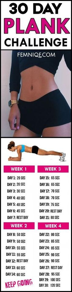 Powerful 30 day plank challenge for beginners before and after results - Try this 30 day challenge for beginners will help you get a flat belly and smaller waist. by gabysiepe