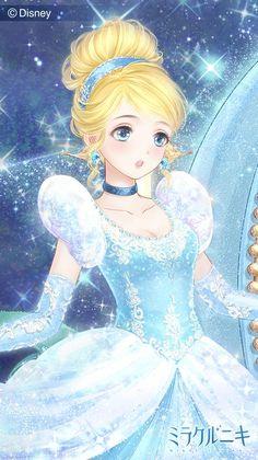 Nikki x Disney Princess Disney Princess Pictures, Disney Princess Drawings, Disney Princess Art, Anime Princess, Disney Fan Art, Disney Drawings, Cinderella Princess, Anime W, Anime Art Girl