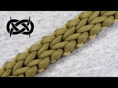 How to make a Cyber Falls Sinnet (Paracord Bracelet) Tutorial (Paracord 101) - YouTube