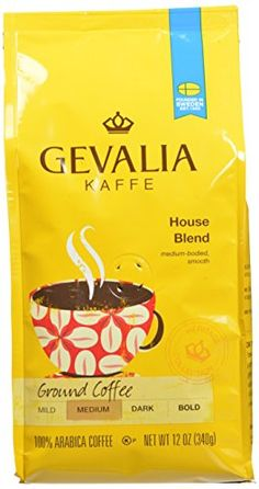 Gevalia Roast and Ground Coffee House Blend 12 Ounce Pack of 6 *** Click image to review more details.