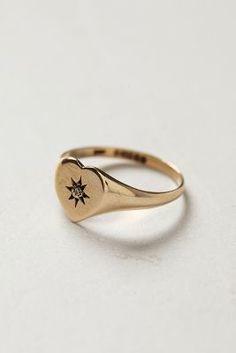 shopFiligree Vintage Starburst Heart Ring #anthrofave #anthropologie