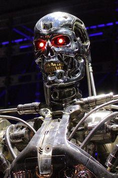 Terminator T800 from The Terminator movie series.