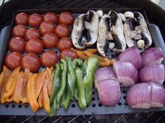 Vegetable Grilling Tips