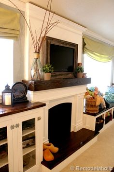 Remodelaholic » Blog Archive Framing in a Wall Mount Television » Remodelaholic