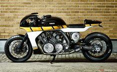 Yamaha Yard Built VMAX 'CS_07 Gasoline' by roCkS!bikes