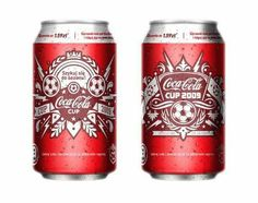 Дизайн серии банок Coca-Cola