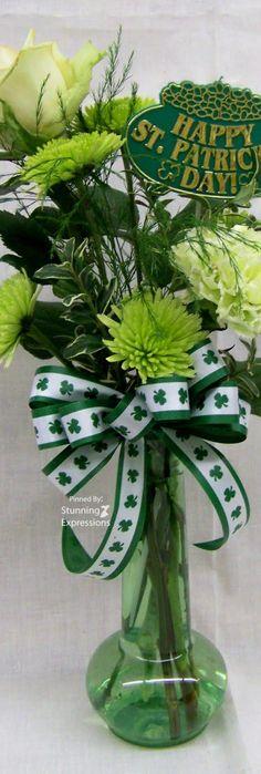 St. Patrick's day decor.