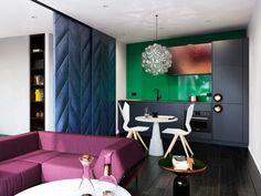 Casinha colorida: Especial salas de estar 2016: sofás coloridos