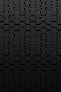 Black Honeycomb Android Wallpaper