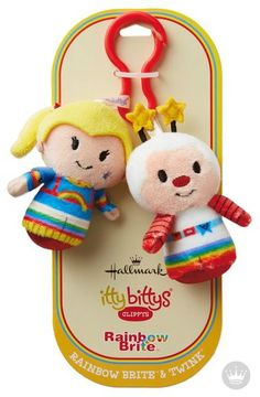 Every bitty needs a buddy. itty bittys® Clippys from Hallmark come in pairs so you can share or trade them with friends. Plus, they're just the right size to clip on a backpack, belt, purse strap or wherever you want them to tag along. Add this cute kids' accessory to your back-to-school shopping list!