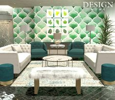 Scale of Luxury Design Home Game App, Outdoor Furniture Sets, Outdoor Decor, House Design, Design Homes, Room Decor, Couch, Luxury, Rugs