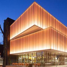 Multipurpose Hall Markant, Uden (NL) - NOAHH Multipurpose Hall, Facade Lighting