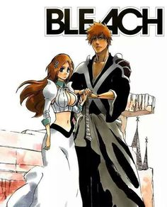 Image via We Heart It #anime #bleach #couple #ichihime #orihimeinoue #kurosakiichigo #love
