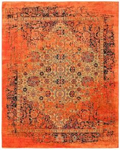 Patternbank are in love with these stunning carpets by designer Jan Kath. As one of the most in-demand designers of hand knotted carpets Kath purposely bre Jan Kath, Classical Elements, Textiles, Magic Carpet, Old Master, Contemporary Rugs, Persian Carpet, Pink Rug, Carpet Runner