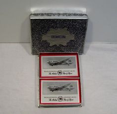 TWA AIRLINES PLAYING CARDS 1 DECK 1939 TRANSCONTINENTAL & WESTERN AIR ENCHANTING | eBay