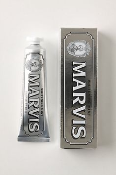 Marvis toothpaste , italian brand specifically from Florence with amazing packaging Www. Vintage Packaging, Pretty Packaging, Brand Packaging, Vintage Branding, Best Toothpaste, Skin Lightening Cream, Brand Architecture, Men's Grooming, Packaging Design Inspiration