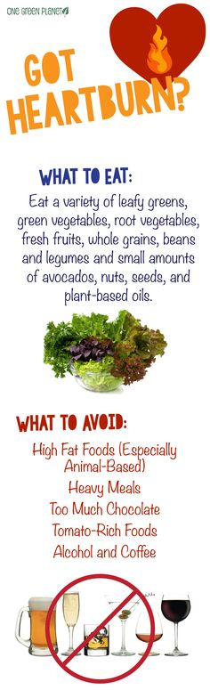 http://onegr.pl/1xBdS4W #vegan #vegetarian #heartburn #prevent #eat #avoid #health #tips #natural #remedies