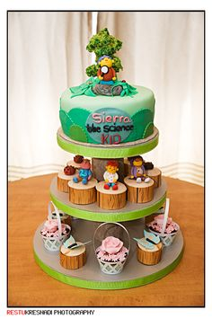 Sid the Science Kids Cake and Cupcakes