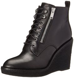 Marc by Marc Jacobs Women's Kit Zip Crepe Wedge Boot ** This is an Amazon Affiliate link. You can get additional details at the image link.