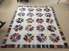 String quilt by Sharon Theriault