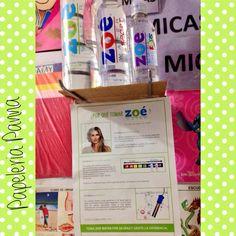 @papeleriapanna: Y ustedes ya toman @zoe_water compra sus variedades aquí. #alcalinizate