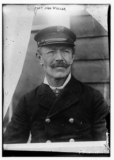 Dashing sea captains and their mustaches.