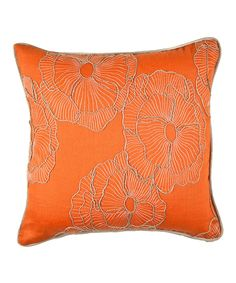 Take a look at this Saffron & Jute Marilyn Throw Pillow on zulily today!