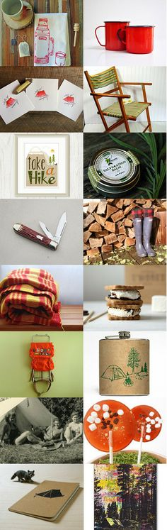 let's go camping by Katie McClanahan on Etsy--Pinned with TreasuryPin.com
